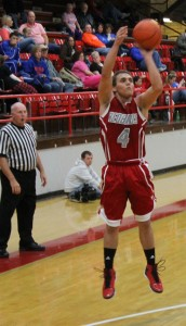 Sophomore Braxston Koehl was the Redbirds' scoring leader Wednesday night at the Midwinter Classic tournament.