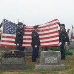 Family, friends, military and strangers salute soldier who died 66 years ago