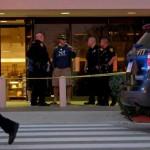 San Antonio police at the crime scene....(Express-News photo)