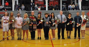 The RLC 2017 Homecoming Court is, FROM LEFT, Nick Marlo of Sesser; Cali Carney of Benton; Tanner Maskey of Springfield; Hannah Poynter of Louisville, Ky.; Conner Jackson of Bluford; Skylyn Simpson of Sesser; Damien Wilburn of Thompsonville; Taylor Aldridge of Eldorado; Lane Bradley of Steeleville; Beth Moats of Wayne City; Wade Hutchens of Ewing; and Grace Pytlinski of Waltonville. (ReAnne Palmer - RLC Media Services