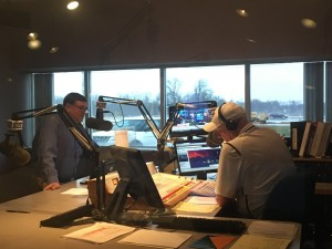 Rep.  Severin on the Miller in the Morning Show, on Newsradio WJPF