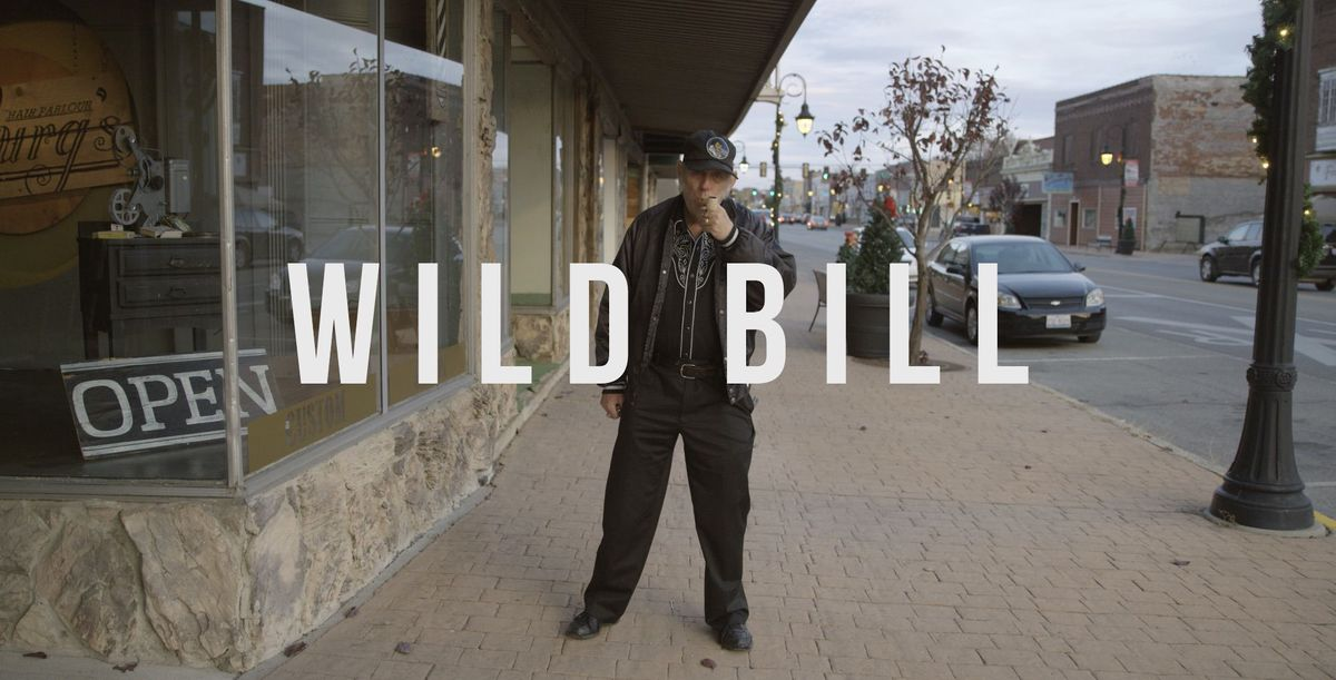 Still shot to the introduction to the Wild Bill documentary. (Ethan Talley photo)