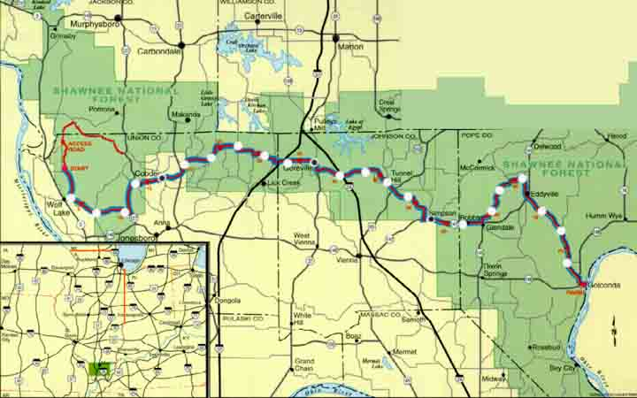 Southern Illinois River to river relay