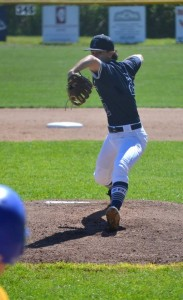 Anderson on the mound in a recent Z-R-C game with Trico. (Randall Risley photo)