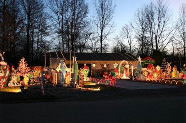 Candy Cane Christmas Lights