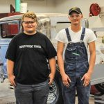 RLC's Newbury and Berner receive Hot Rod Nights Scholarship